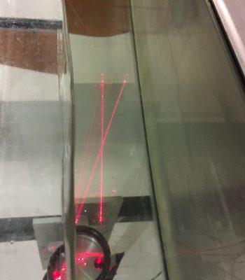 Strömungsgeschwindigkeitsmessung mittels LDA